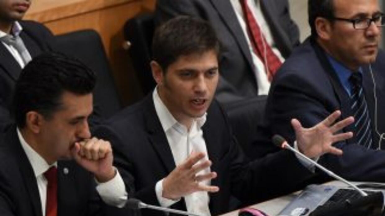 El ministro argentino de Economía, Axel Kicillof.