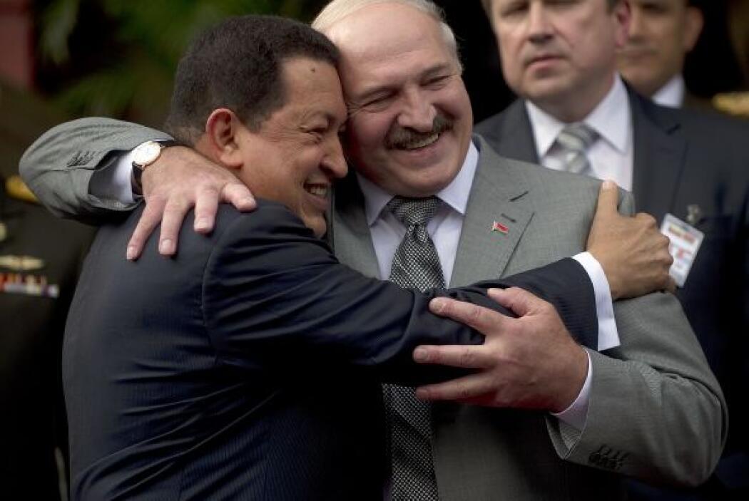 Alexander Lukashenko. El presidente bielorruso es el paria de los países...