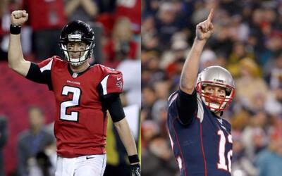 Matt Ryan vs Tom Brady