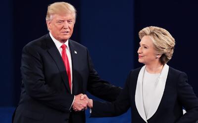 Donald Trump dice que no investigará a Hillary Clinton como lo había pro...