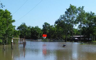 Inundaciones en Dayton, Texas