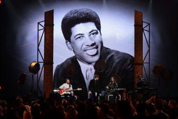 El fallecido músico Ben E. King fue homenajeado.