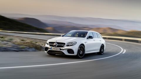 Esta es la nueva Mercedes-Benz E63 S Wagon, que se presentará en...