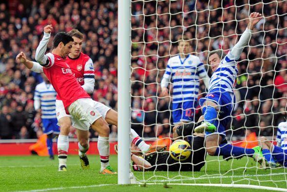 El español tuvo la fortuna de poder marcar el solitario gol con el que l...