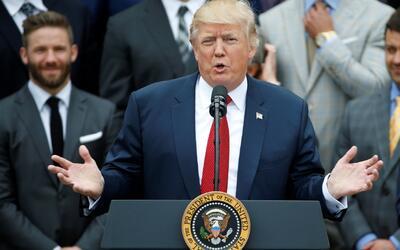"""Donald Trump sobre su gobierno: """"Ninguna administración ha hecho tanto e..."""