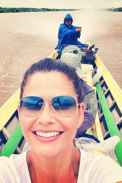 Selfie conociendo Inle Lake, un maravilloso lugar lleno de pura gente am...