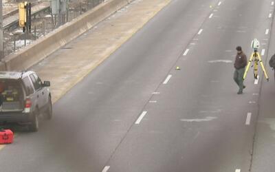 Se registró tiroteo entre dos conductores en la Autopista Eisenhower