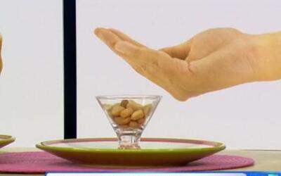 Mide tus porciones de comida con el tamaño de tus manos