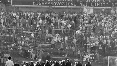 Estadio Heysel, 29 de mayo de 1985.