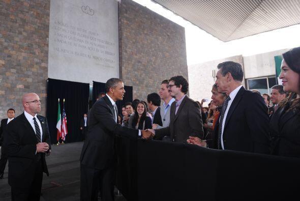 Por otro lado, el mandatario reconoció que EEUU se ha fortalecido con la...