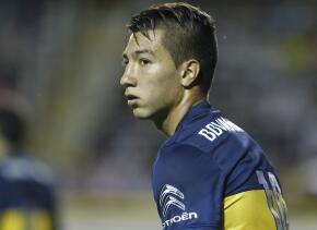 Luciano Acosta surgió de Boca Juniors y tiene 21 años.