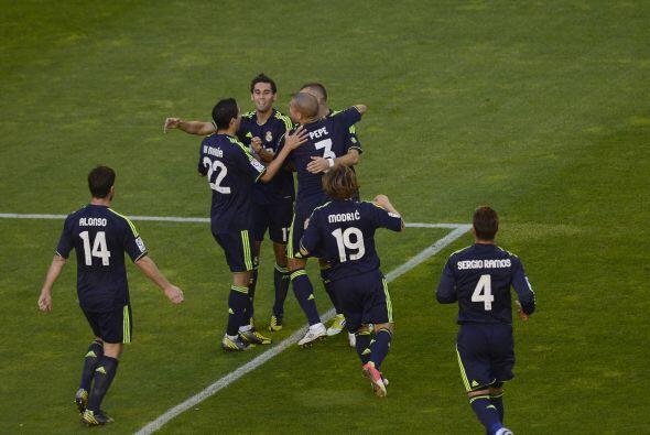Apenas era el minuto 13 del juego y el Madrid ya estaba arriba.