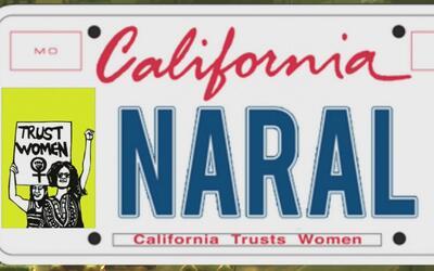 """""""California confía en las mujeres"""", el mensaje que podría ir en las plac..."""