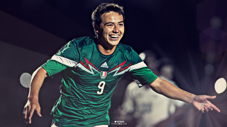 """Érick """"Cubo"""" Torres, selección olímpica de México"""