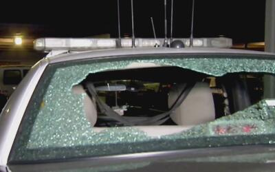 Persecución policial en California termina con un agente herido de bala