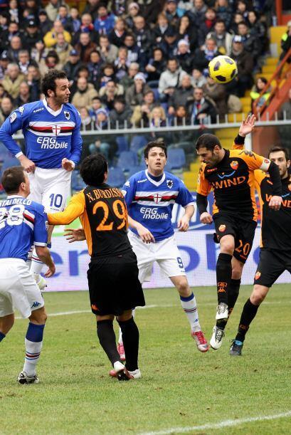 Sampdoria dio la sorpresa al derrotar a la Roma.