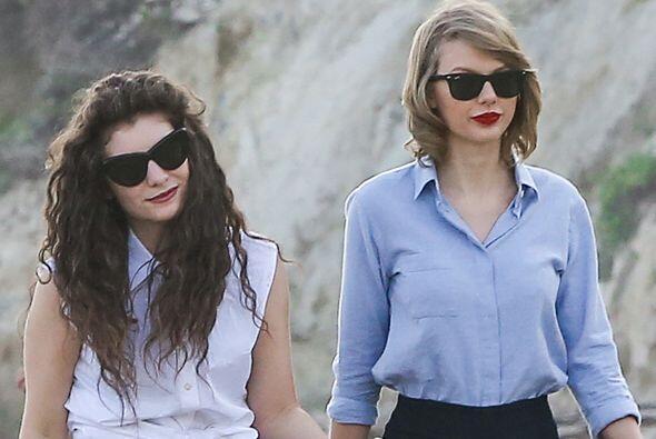 Últimamente hemos visto muy amiguitas a Taylor Swift y Lorde. Mira aquí...