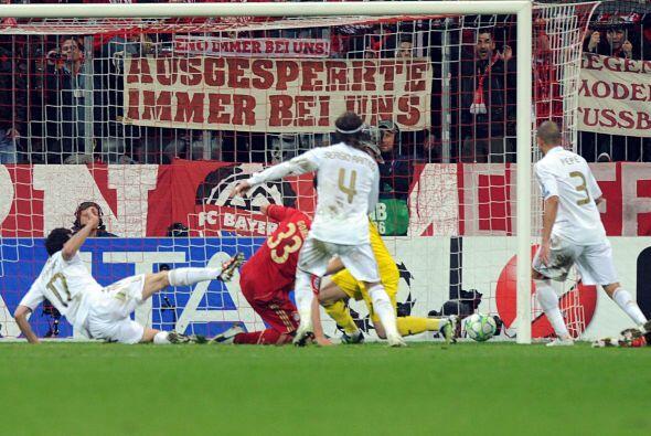 Pero en el minuto 89, casi al final del partido, una jugada marcó...