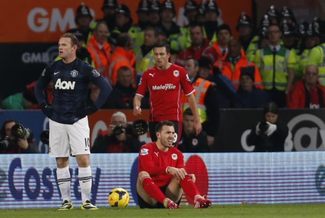 Ni el poder de definición de Rooney pudo ser la llave para la victoria.
