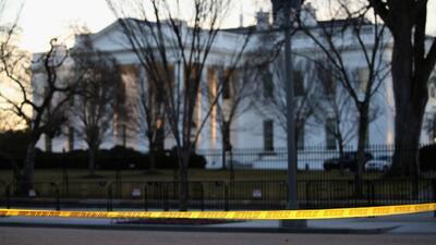 Animación: cómo agentes del Servicio Secreto chocaron contra barricada d...