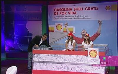 Gasolina Shell gratis por un año es para Caguas