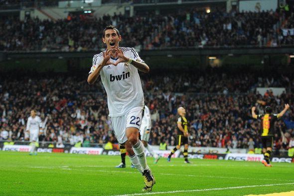 Angel Di María anotó después luego de dos rebotes.