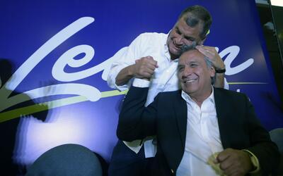 El oficialista Lenín Moreno gana la segunda vuelta y es el nuevo preside...