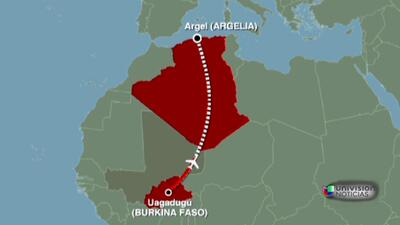 Los restos del avión de Air Algérie fueron encontrados