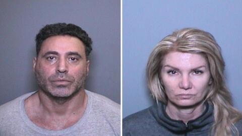 Fadi Boulos Chaiban y Tina Lorraine Saunders fueron detenidos y nombrado...