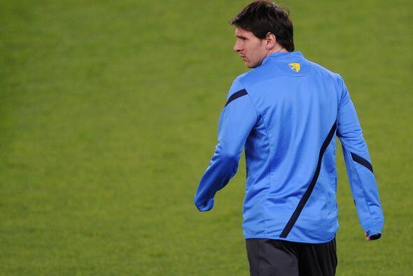 Messi vuelve a la acción esta tarde en la Champions League.