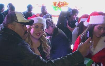 Chiquis Rivera repartió miles de regalos en Navidad