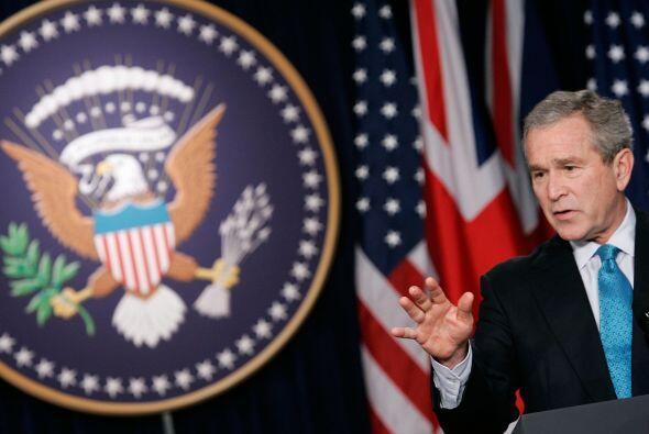 El gobierno comenzó una guerra sin cuartel contra el terrorismo y...