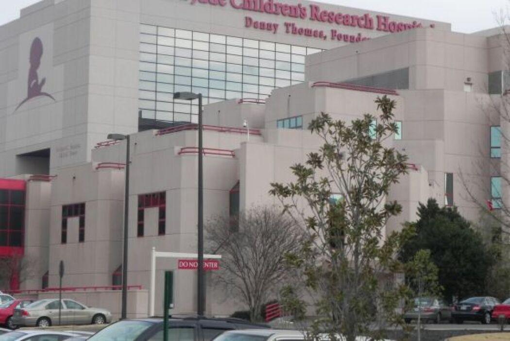 La fachada del Hospital St. Jude, el único centro donde las familias nun...