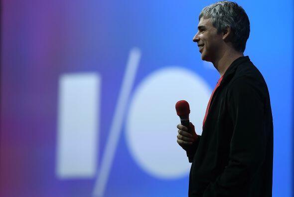 Larry Page, CEO Google  Fortuna para septiembre de 2013- $24,900 millone...