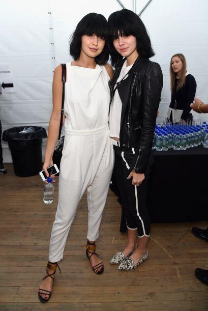 Es nada menos que la sensual Kendall Jenner, quien modeló en Nuev...