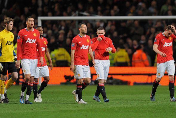 El United fue víctima de sus propios actos y salió derrotado del partido...
