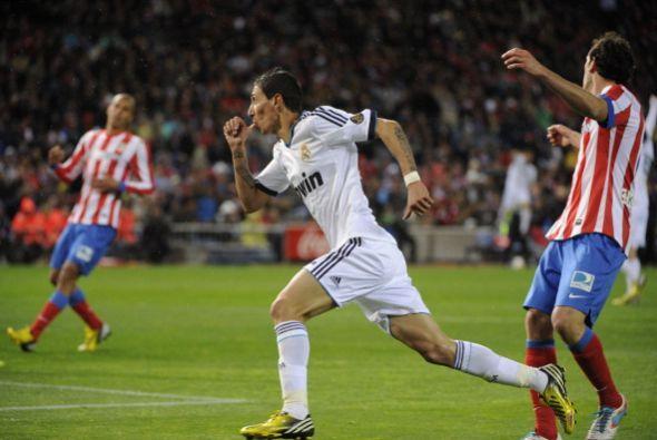 Angel Di María fue la estrella del Real Madrid generando los dos...