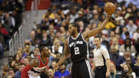 Los Spurs vencieron 112-100 a Wizards