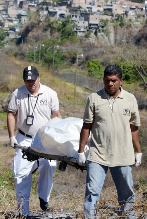 La tasa de homicidios en Honduras, según las Naciones Unidas, es de 92 p...