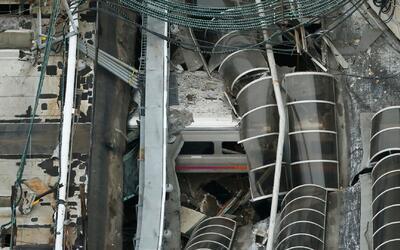 Estela de sangre y destrozos dejó choque de tren en Nueva Jersey