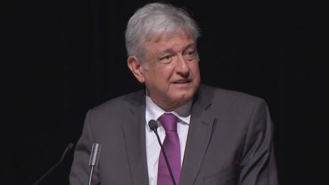 """López Obrador: """"Hay toda una campaña de acoso, de discriminación; y por..."""