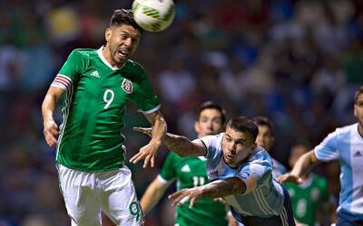 Ni México ni Argentina pudieron hacerse daño.