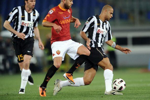El encuentro que cerró la jornada enfrentó a Roma y Juventus.