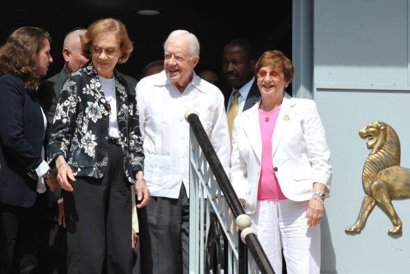 Carter se reunió el lunes con el cardenal Jaime Ortega -cuya gestión ant...