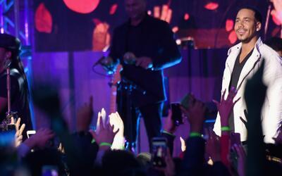 Todos los detalles del exitoso e inesperado concierto de Romeo Santos en...