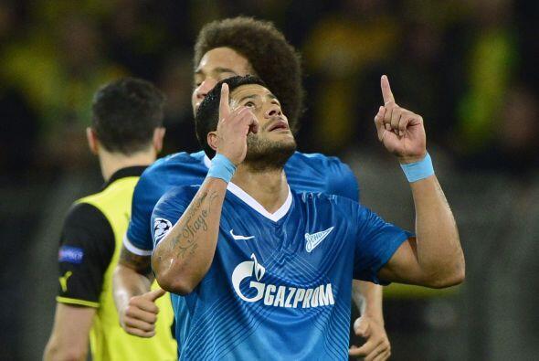 El goleador acercaba al Zenit, aunque aún necesitaban dos goles.