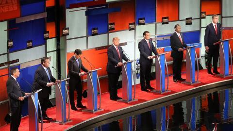 Debate Republicano en  Charleston