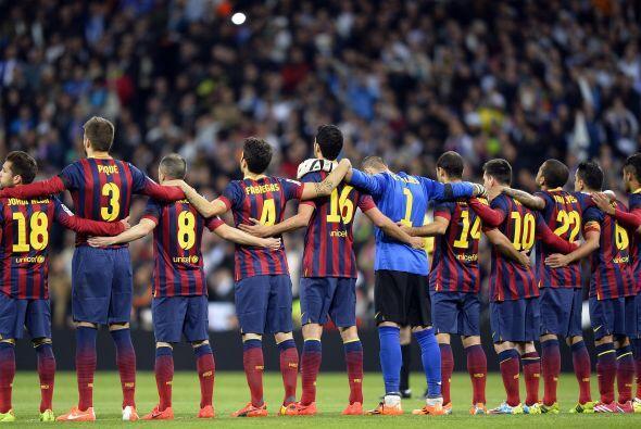 El Barcelona se metía al Santiago Bernabéu a cuatro puntos...
