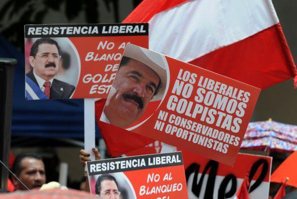 Zelaya se estableció en Santo Domingo desde el 27 de enero de 2010, cuan...