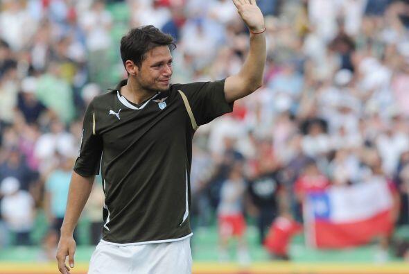 Mauro Zárate no lo podía creer, lloraba deseperado, su tir...